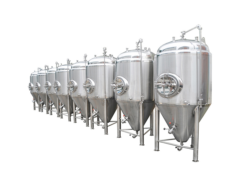 Beer Fermentation Tank Jacketed Conical Fermenter For Beer