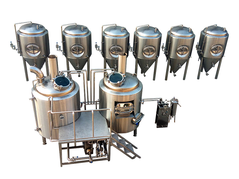 New Electric Heated 7BBL Brewery Equipment For